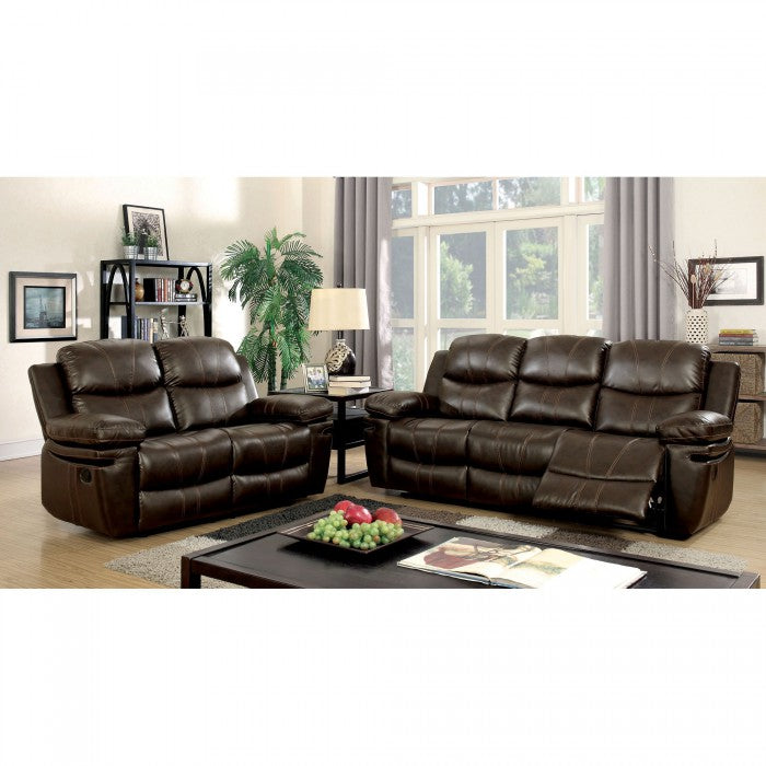 Listowel CM6992-LV Love Seat By Furniture Of AmericaBy sofafair.com