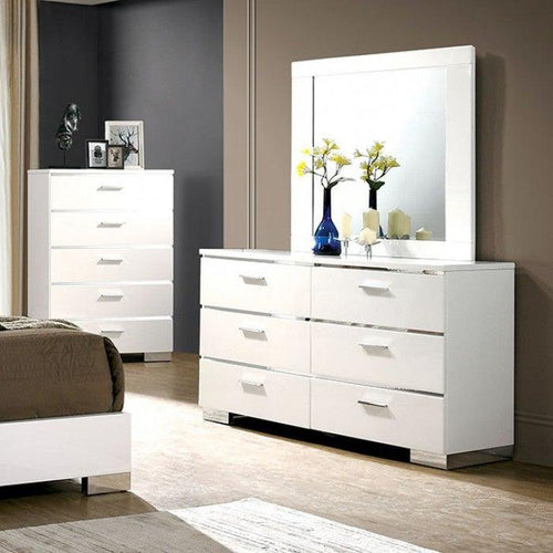 Malte CM7049WH-D Dresser By Furniture Of America from sofafair