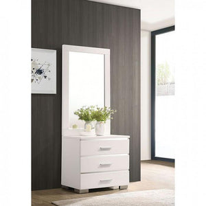 Malte CM7049WH-MS Tall Mirror