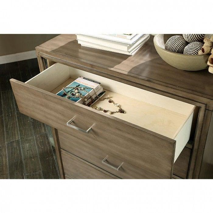 Enrico CM7068GY-C Chest By Furniture Of AmericaBy sofafair.com