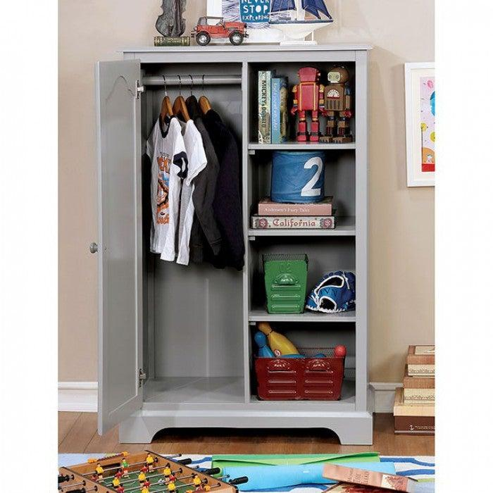 Diane CM7158GY-CN Closet Storage By Furniture Of AmericaBy sofafair.com