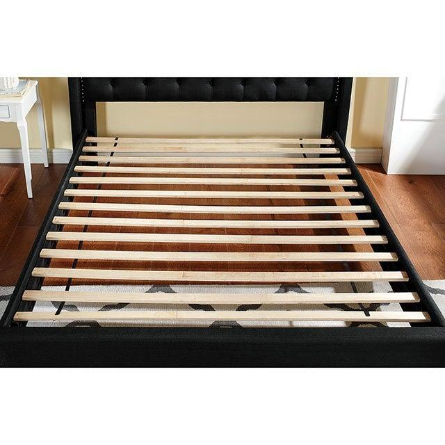 Carly CM7160BK Bed By Furniture Of AmericaBy sofafair.com