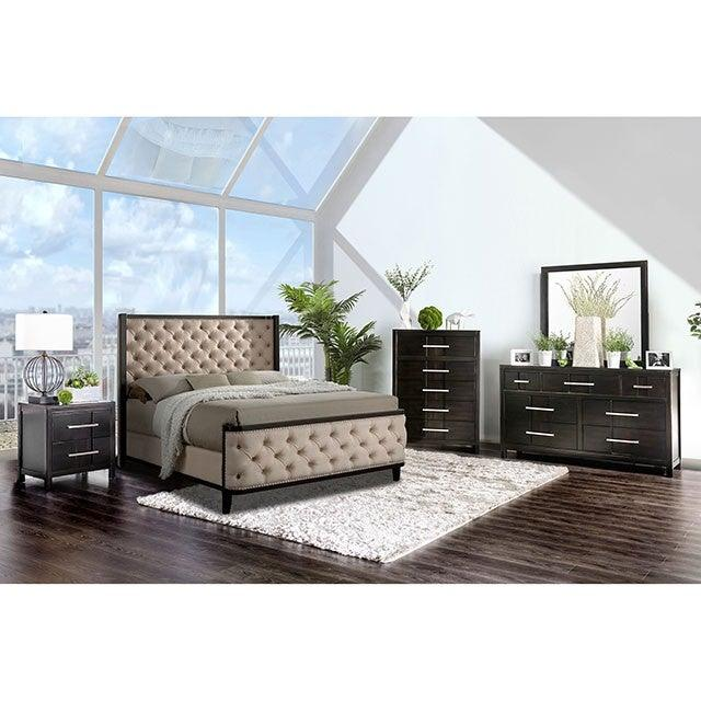 Chanelle CM7210 Bed By Furniture Of AmericaBy sofafair.com