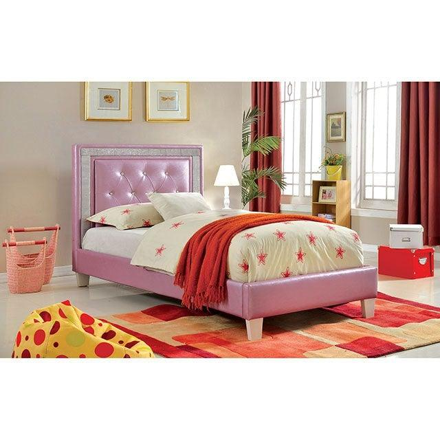 Lianne CM7217PR Bed By Furniture Of AmericaBy sofafair.com