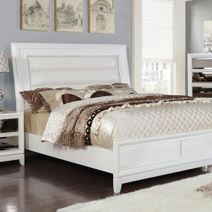 Golva CM7295WH Bed By Furniture Of AmericaBy sofafair.com