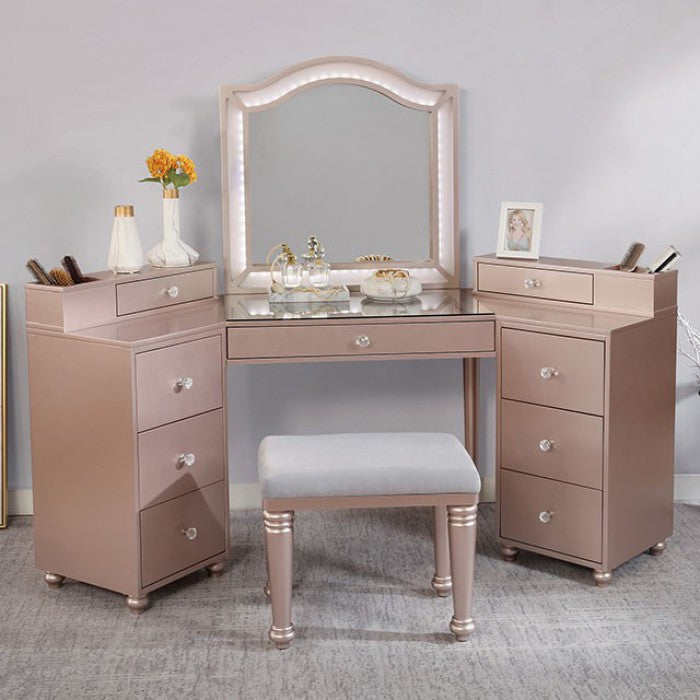 Tracie FOA-DK5686PK Vanity Set By Furniture Of AmericaBy sofafair.com