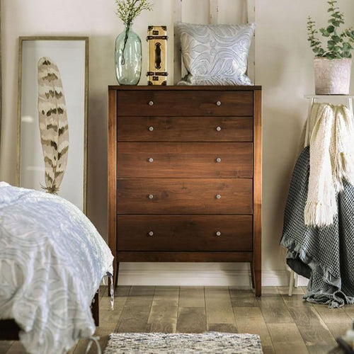 Willamette I FOA7601C-5D 5-Drawer Chest By Furniture Of America from sofafair