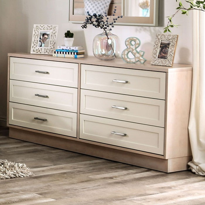 Roseburg FOA7605D-6D Dresser By Furniture Of AmericaBy sofafair.com