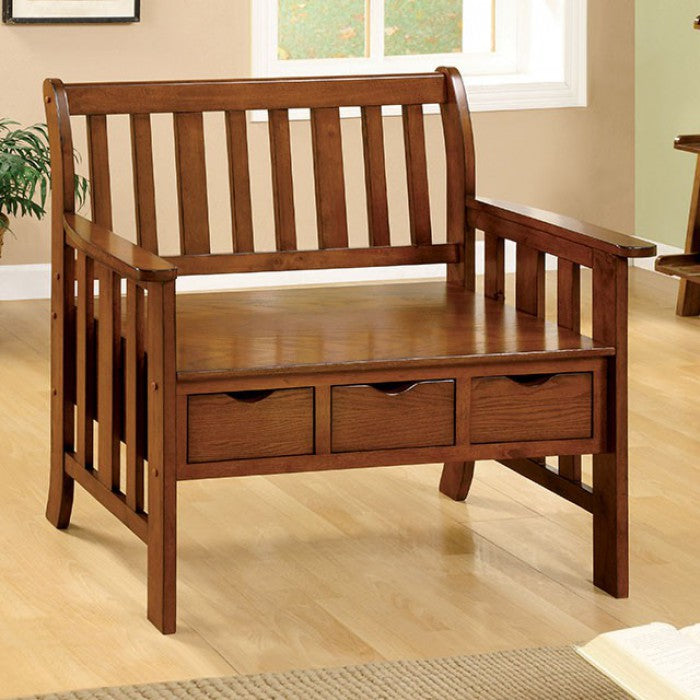 Pine Crest CM-BN6300 Bench By Furniture Of AmericaBy sofafair.com