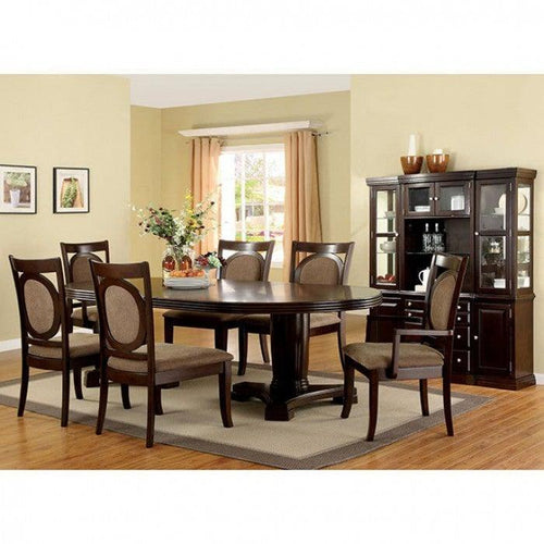 Evelyn CM3418T-set-7pcs Dining table set