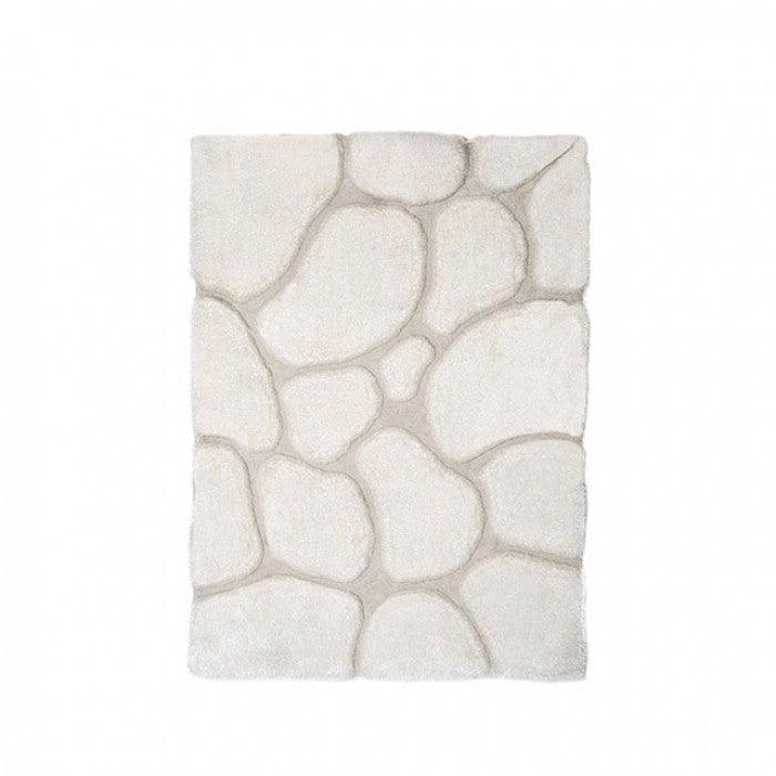Frederiction RG4118 5' X 7' Ivory Area Rug By Furniture Of AmericaBy sofafair.com