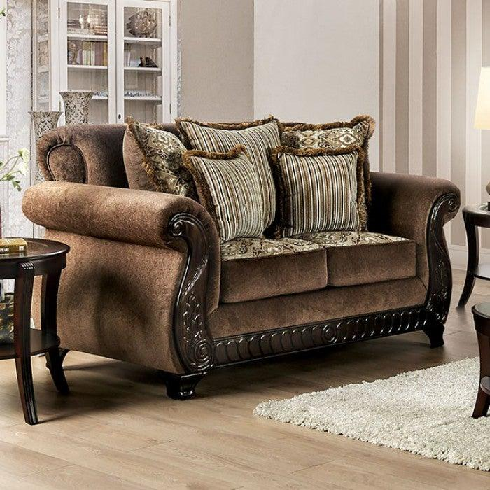 Joselyn SM6213-LV Love Seat By Furniture Of AmericaBy sofafair.com