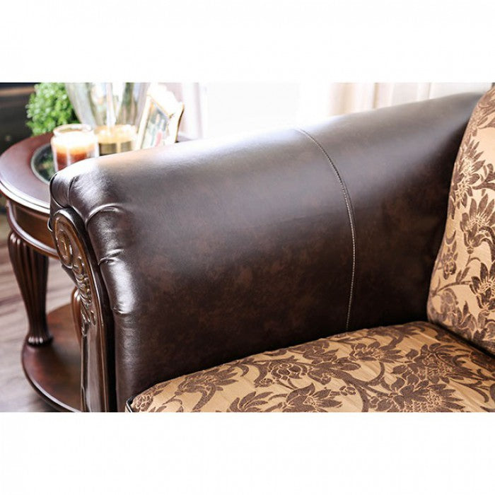 Quirino SM6417-LV Love Seat By Furniture Of AmericaBy sofafair.com