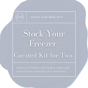 Stock Your Freezer Curated Kit for Two - $149