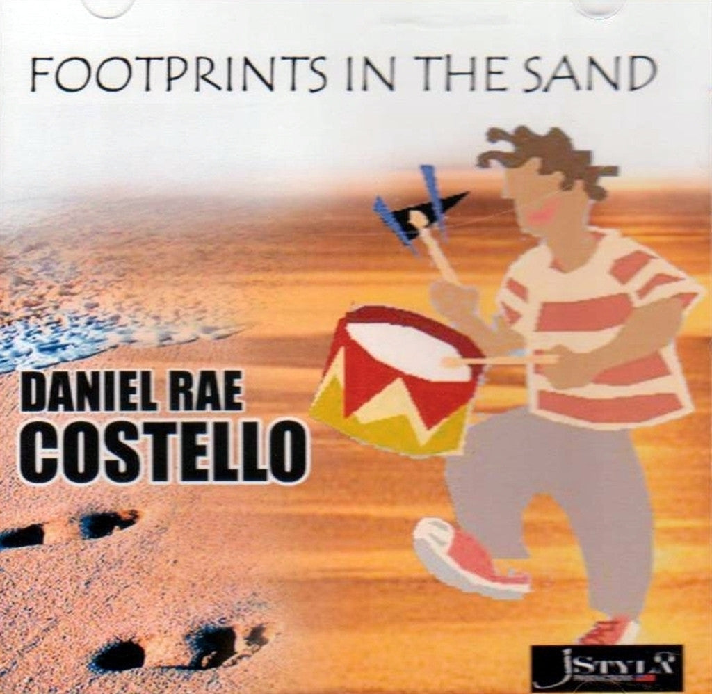 Daniel Rae Costello: Footprints in the Sand