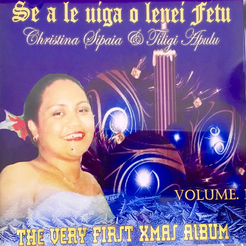 Christina Sipaia & Filigi Apulu - The very first xmas album Volume 1