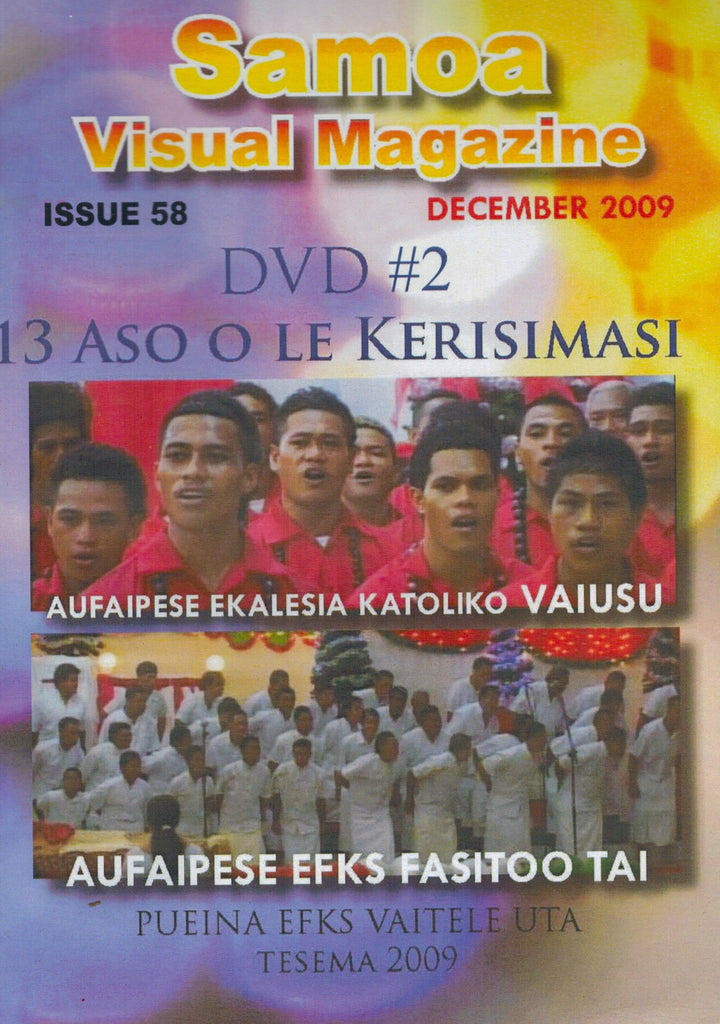 Samoa Visual Magazine Issue 58