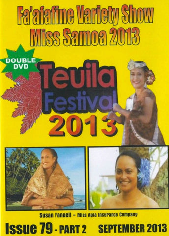 Teuila Festival 2013 Part 1 (Visual Magazine Issue 79 Part 2) - Miss Samoa 2013 & The Fa'afafine Variety Show