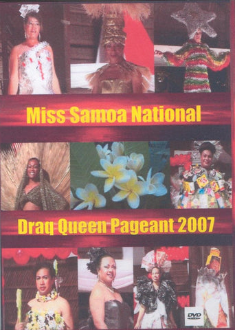 Miss Samoa National Drag Queen 2007