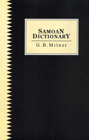 Samoan Dictionary by G. B. Milner