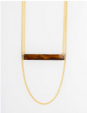 Kipato Unbranded- Twig Loop Necklace