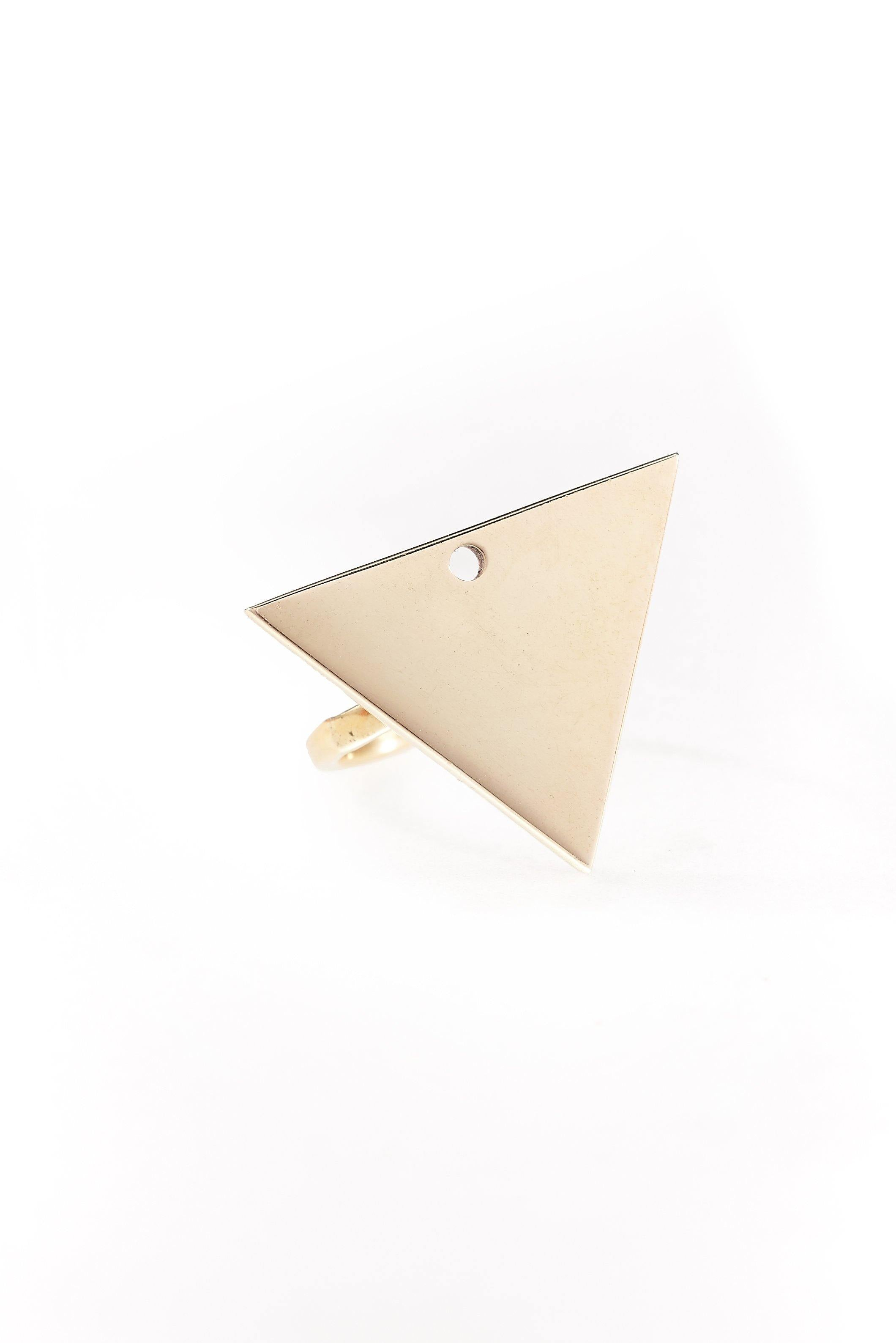 Kipato Unbranded- Pyramid Ring - waafashion