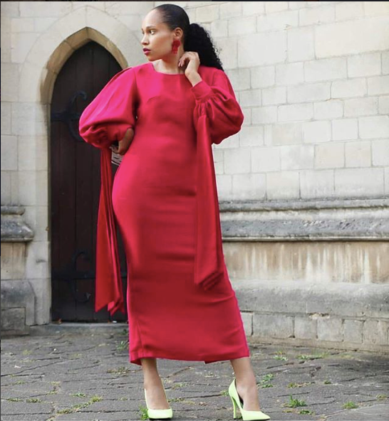 Nuraniya- 'My Terms' Fitted Maxi Dress - waafashion