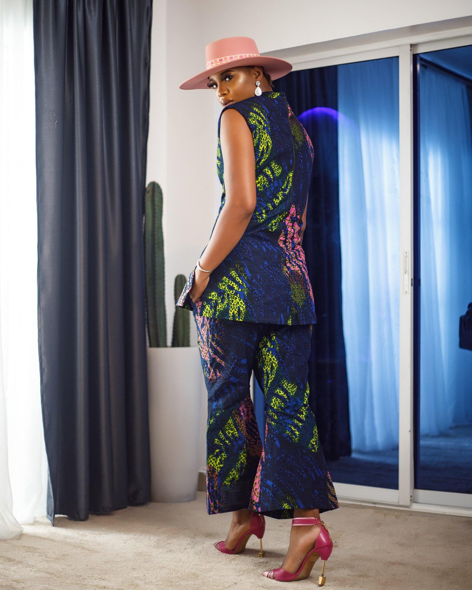 WAA- Ife Tunic and Cropped Trouser Set - waafashion