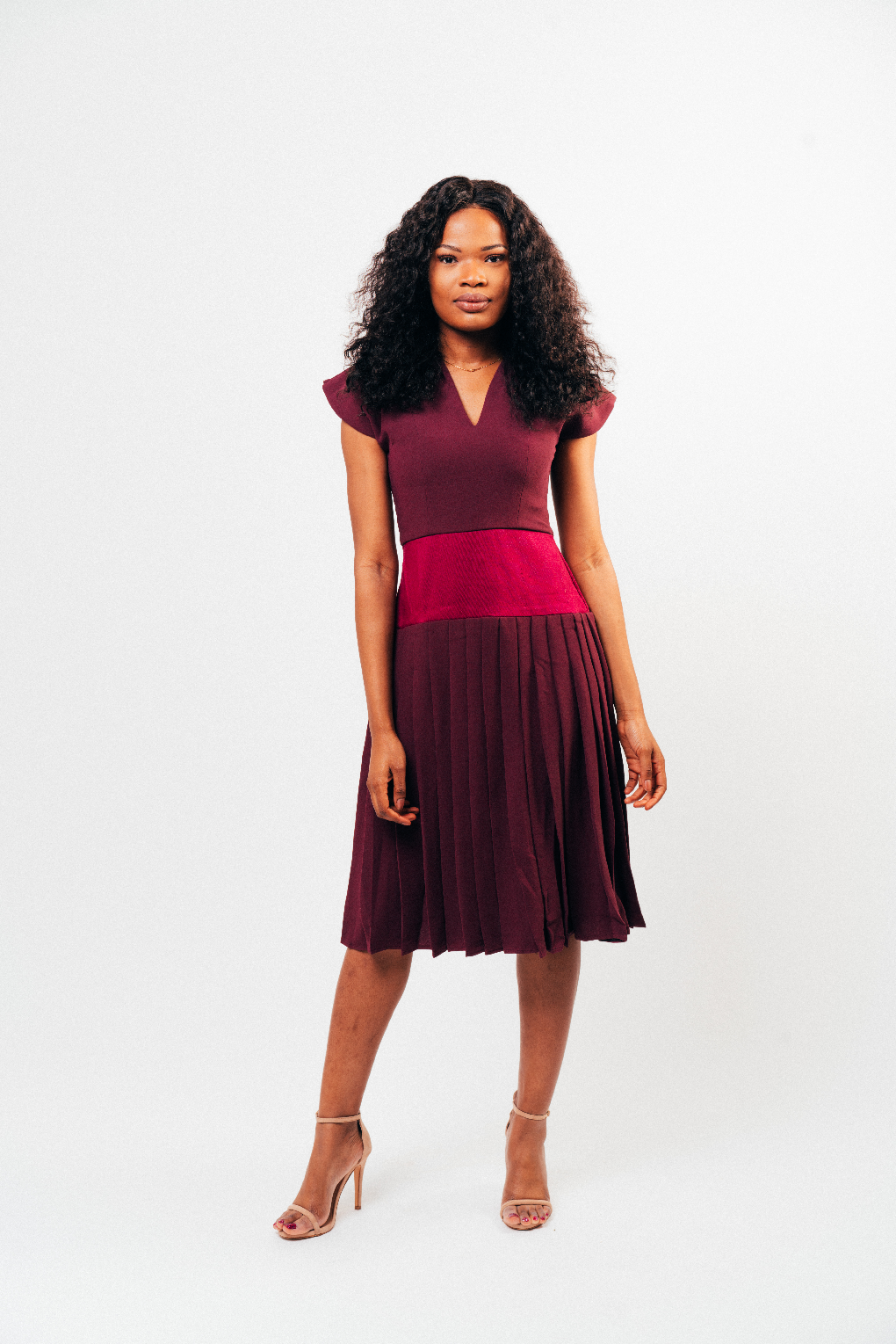 Adéy Soile - Shirley Pleated Dress - waafashion