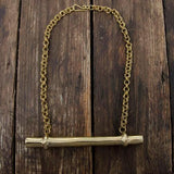 Embody Accessories- Brass Bar Necklace