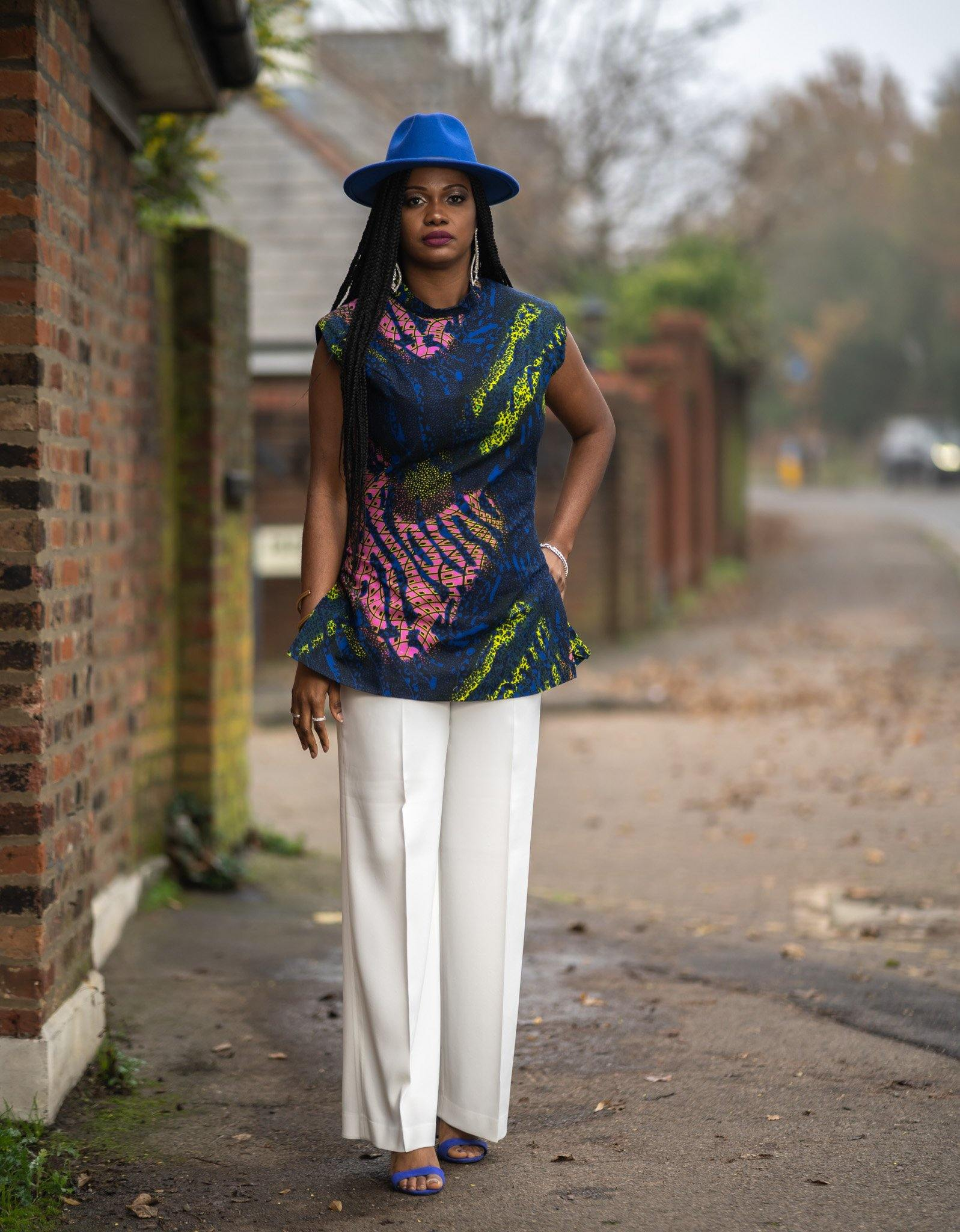 WAA- Ife Tunic with Shoulder Pads - waafashion