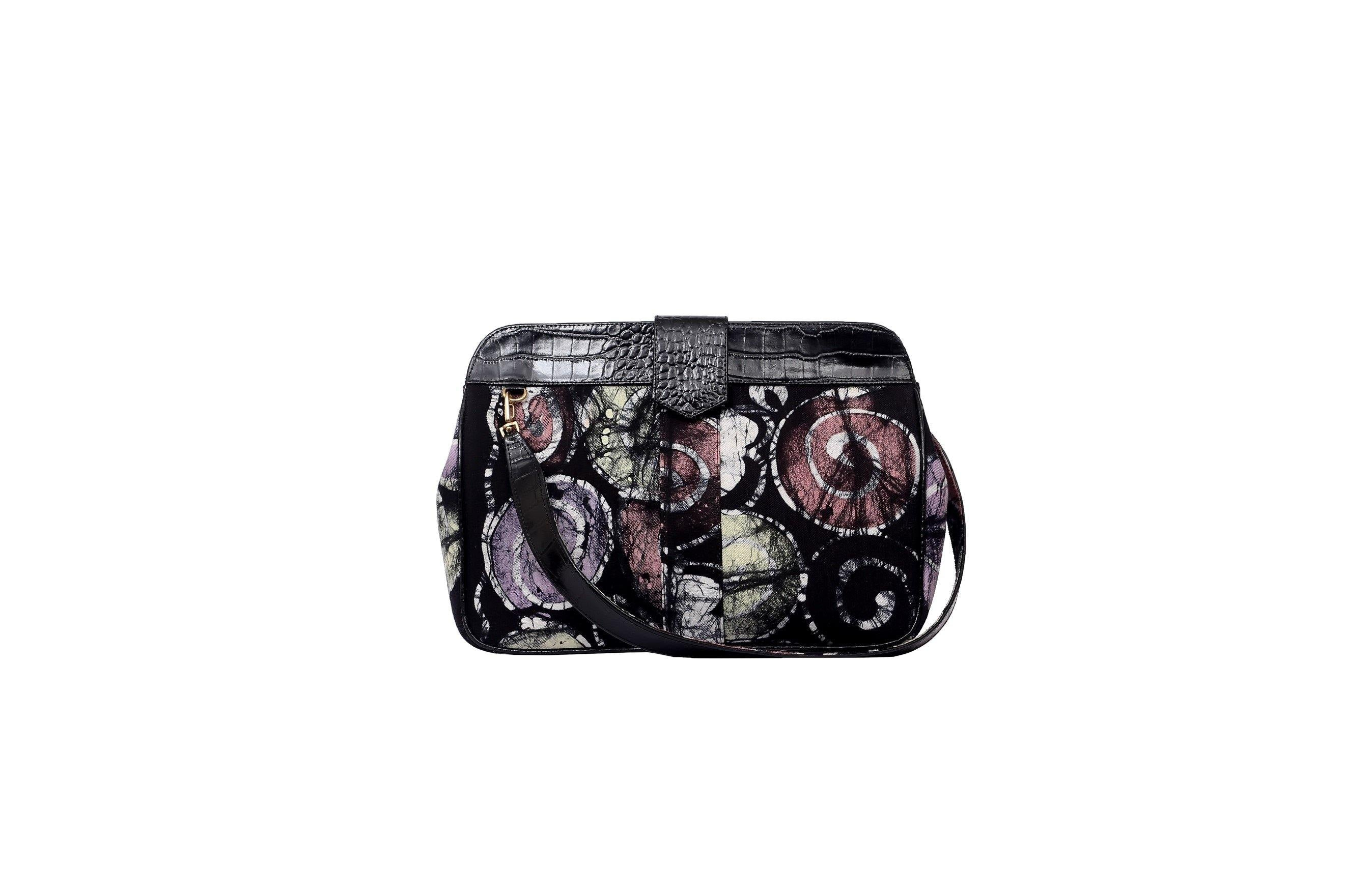 O'Eclat- Mila Batik Clutch Bag (Midi) - waafashion