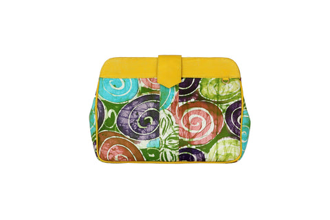 O'Eclat- Mila Batik Clutch Bag (Maxi) - waafashion