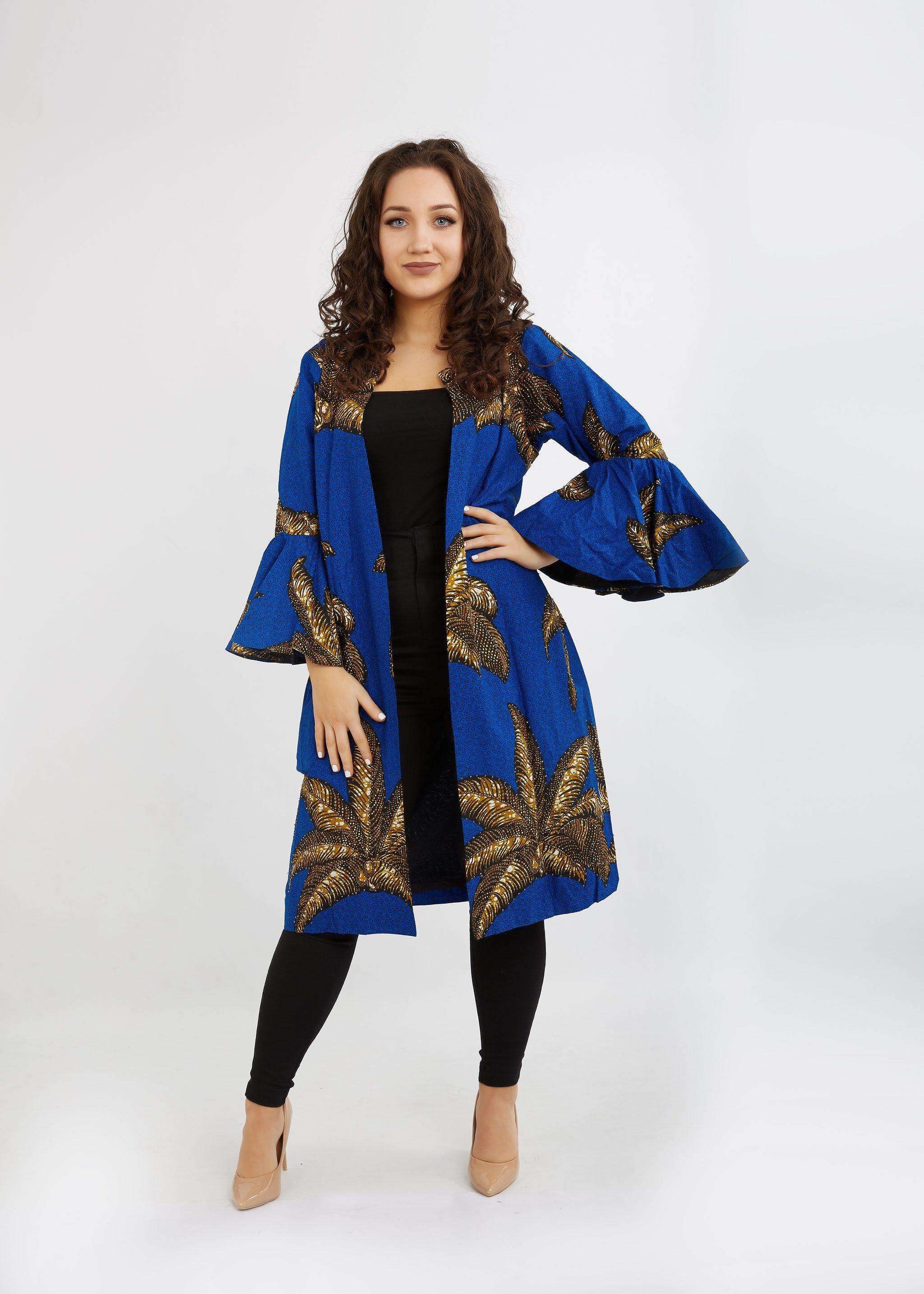 WAA - Embellished Jacket with bell sleeve - waafashion