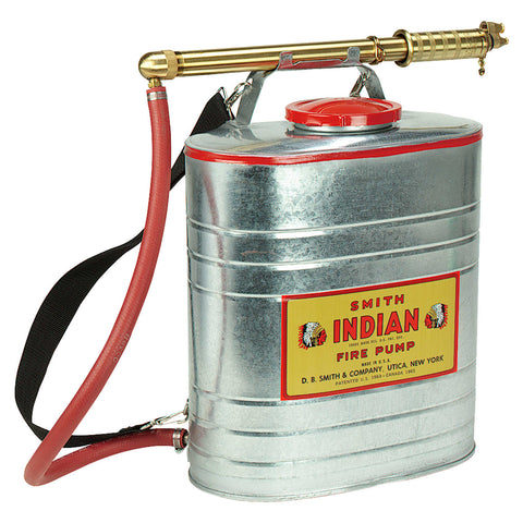 Indian Pumps - Back Tank Sprayer - 5 Gal Galv
