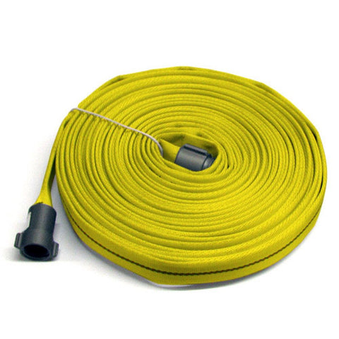 "Mercedes - Forestry Hose 1"" X 100""  Yellow, Type Ii"