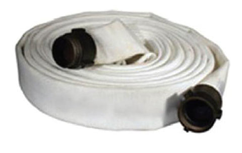 "Key Hose - 1"" Npsh X 100' Forestry - White"