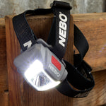 Nebo - Duo Headlamp 250 Lumens - Grey