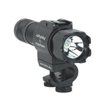 Fox Fury - Side Slide W/ C-Clamp 200 Lumens - Black