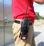 Coaxsher  Radio Holster Fire Fighting-Black