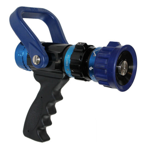 "C & S Supply 30-150 GPM 1.5"" Select Gallonage Blue Devil Nozzle"