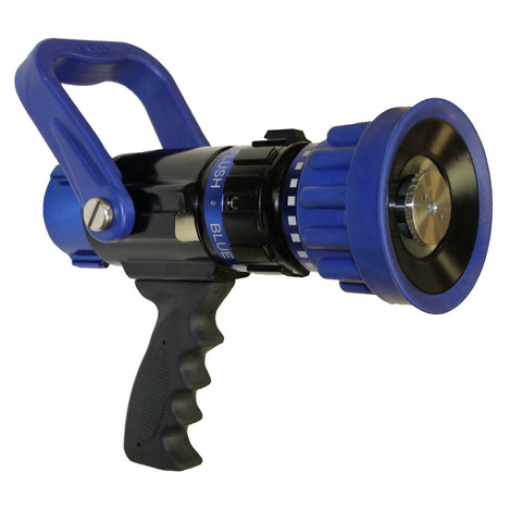 "C & S Supply 125-250 GPM 1.5"" Blue Devil Select Gallonage Nozzle"