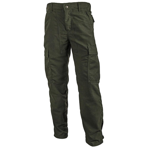 Crew Boss - 7 Oz Brush Pant Tecasafe - Spruce Green