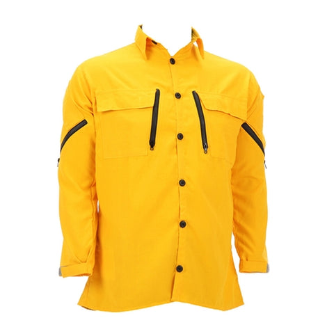 Coaxsher - Cx Fire Vent Shirt - Yellow