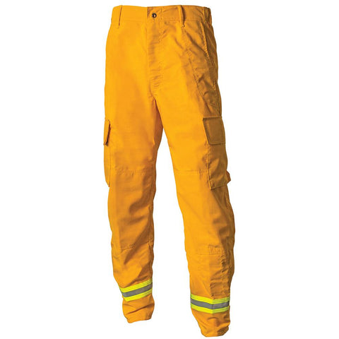 Crew Boss, Wildland Interface Pant-Tecasafe 7 Oz, Yellow