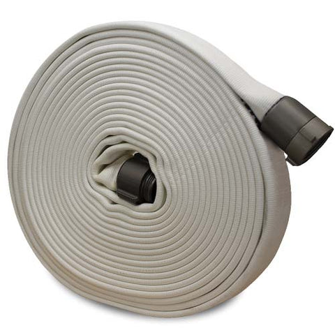 "Key Hose - 1.5"" Nh X 100' Forestry - White"