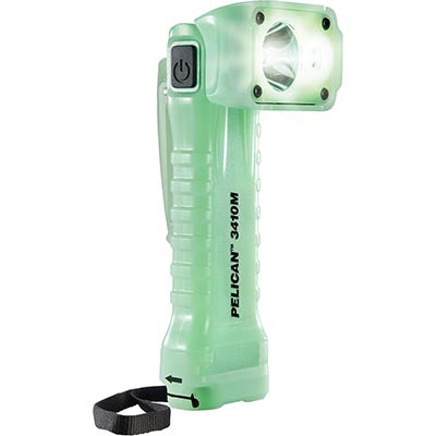 Pelican - Right Angle Light 653 Lumens - Glow In The Dark