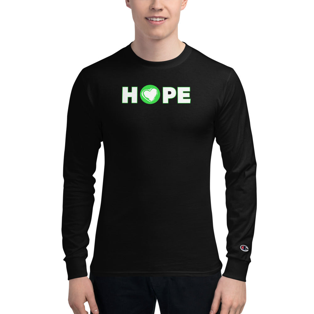 Men's Champion Long Sleeve HOPE Shirt -Limited Series