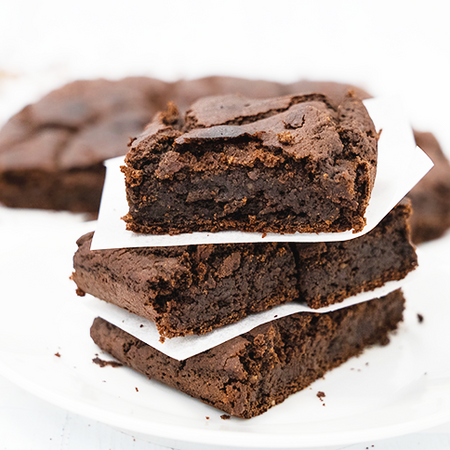 Vegan Hazelnutty Brownies