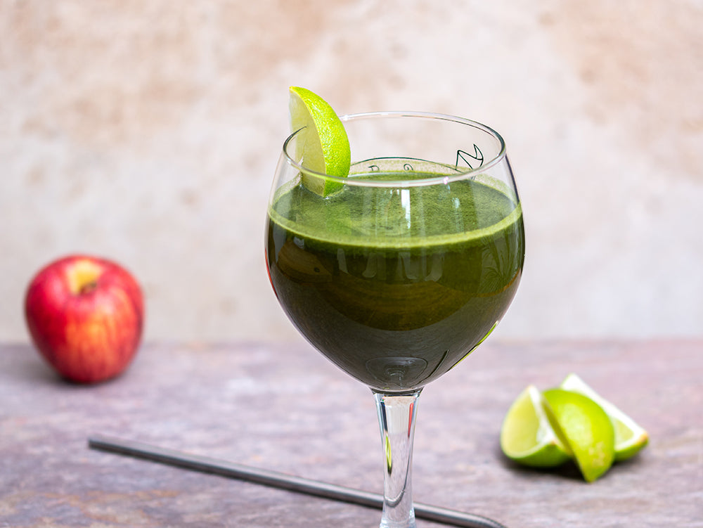 Wheatgrass, Apple & Lime Juice
